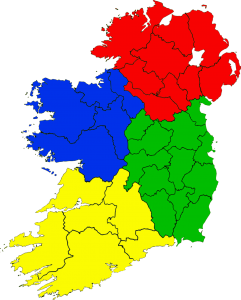 Éire map by Meath Opportunities for Training